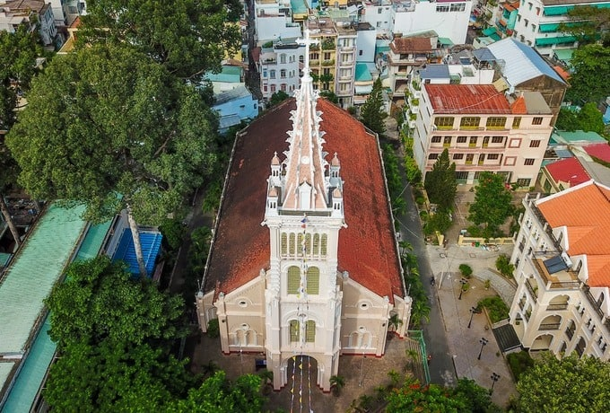 Cha Tam Church from above