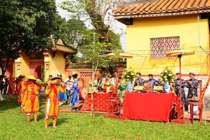 A festival held in Hue Royal Museum