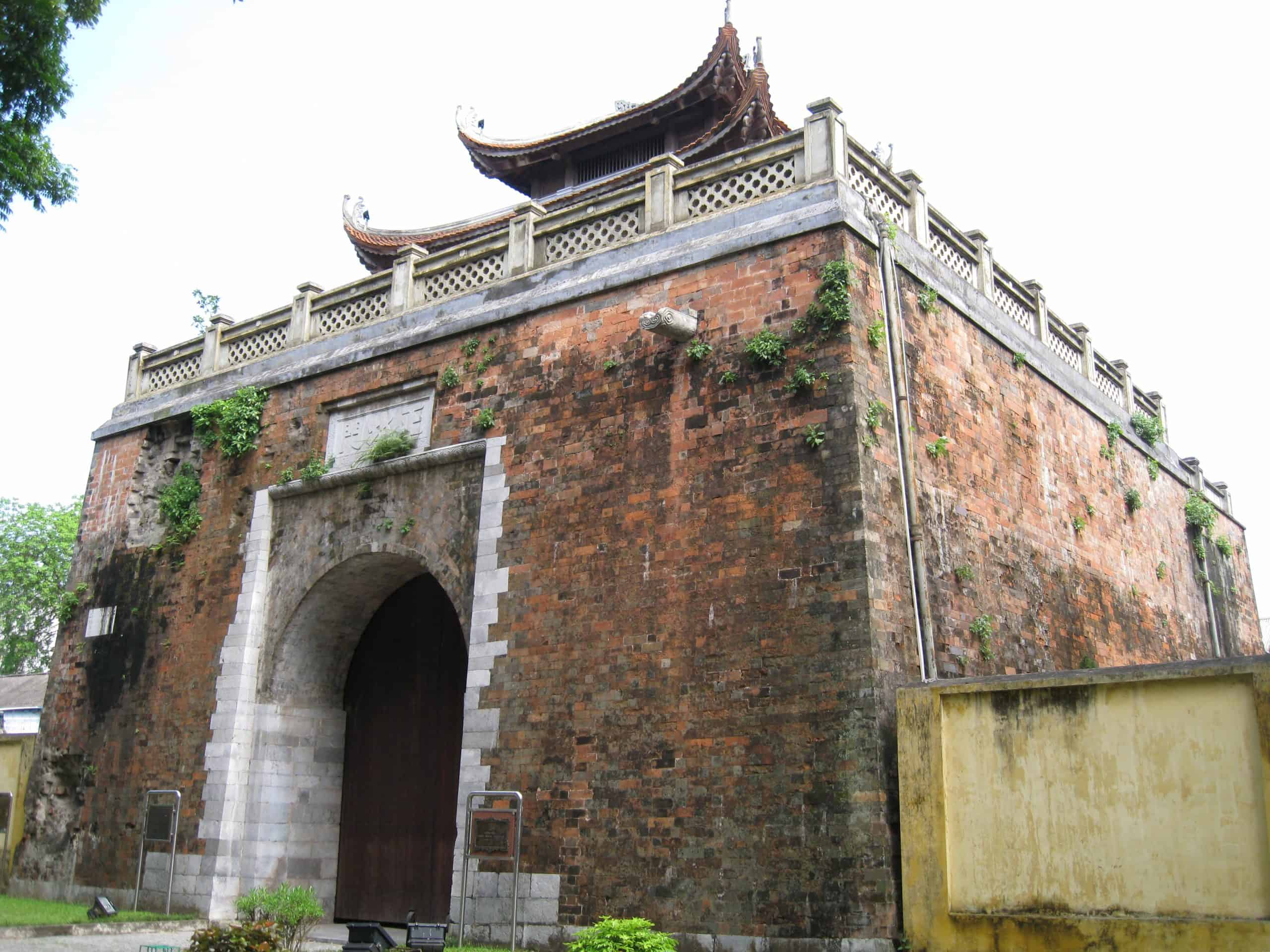 Bac Mon (North gate) of Imperial Citadel of Thang Long