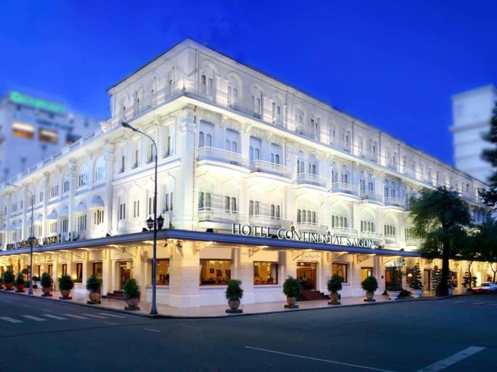 Continental hotel in Saigon