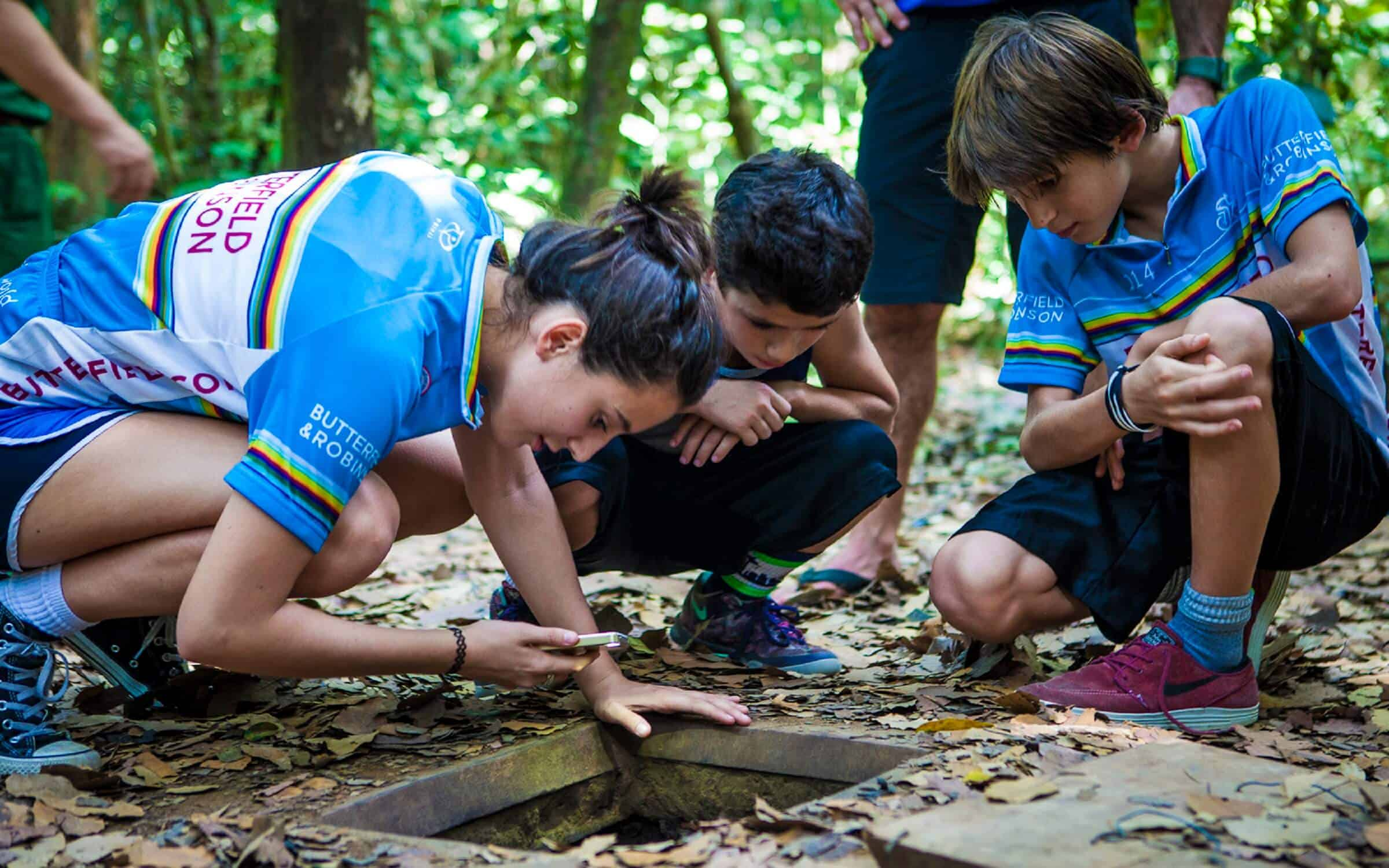 Cu Chi Tunnels Day Tour with kids