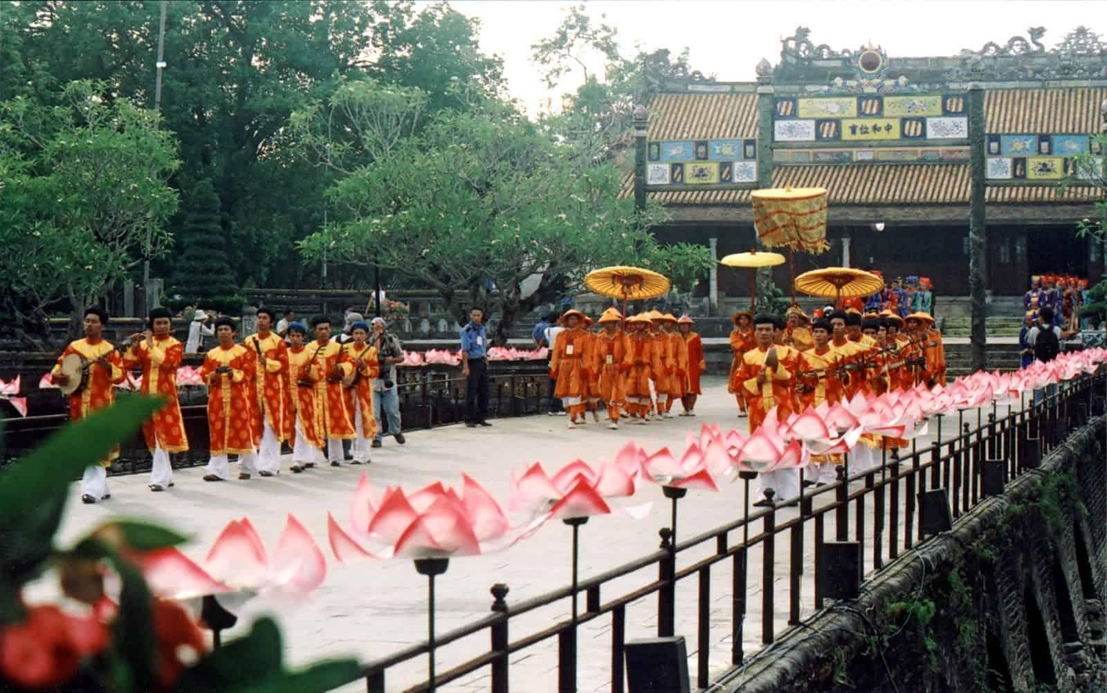 Cultural values of Nam Giao Esplanade