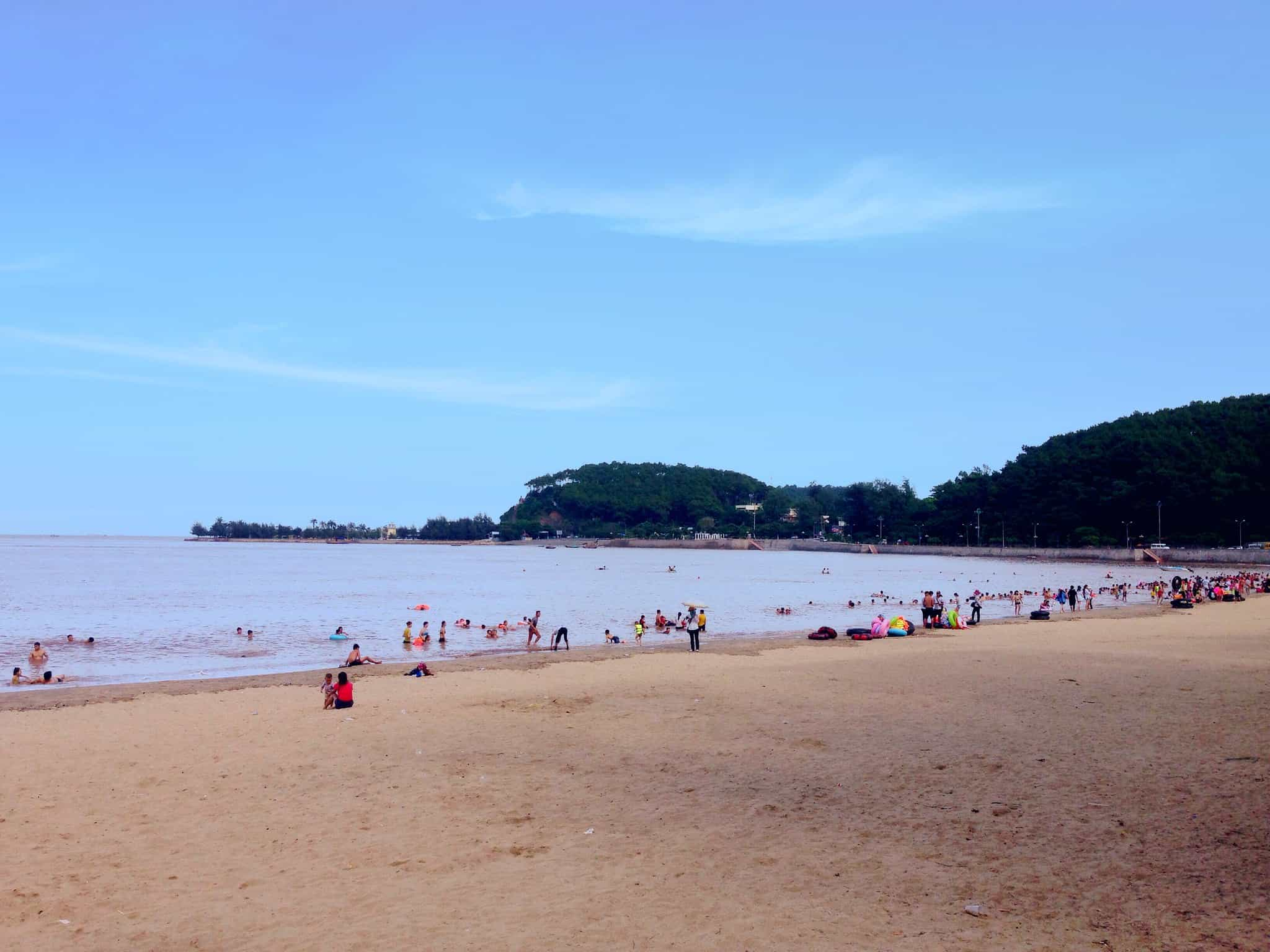 Do Son beach near Hanoi