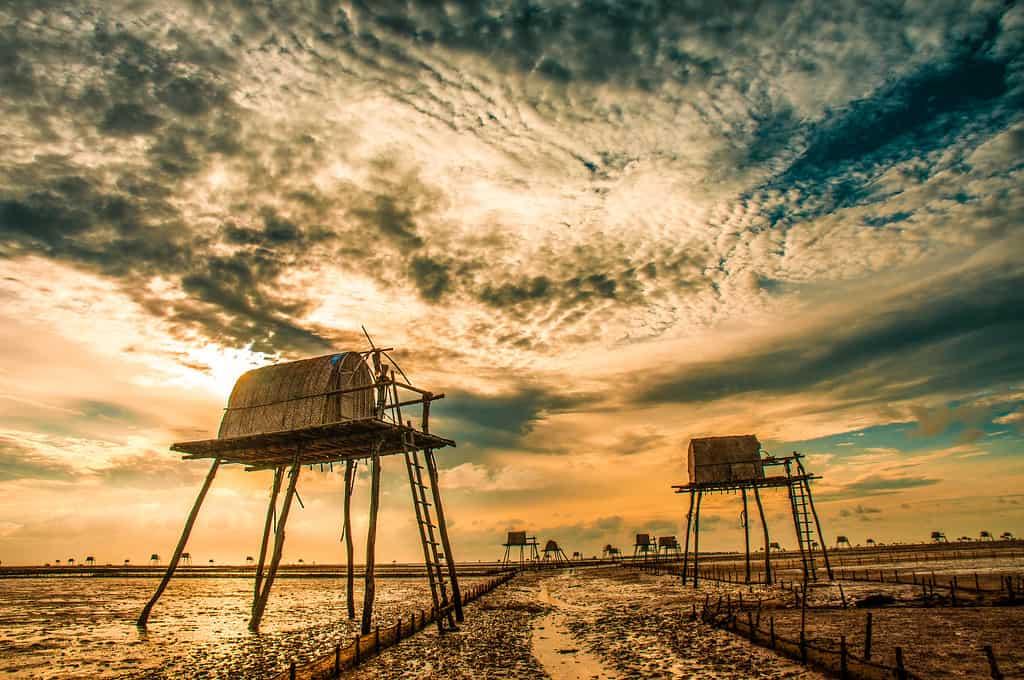 Dong Chau beach near Hanoi