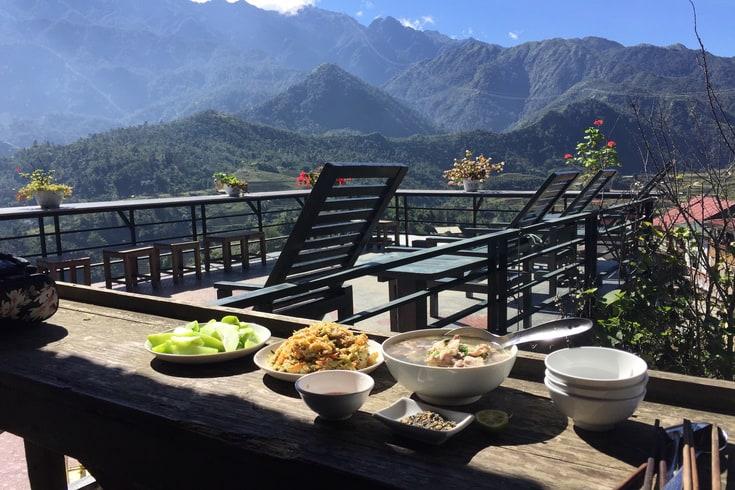 Dining at Gem Valley Sapa