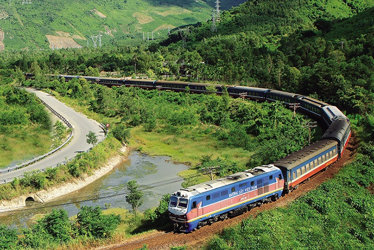 Getting around Vietnam by train