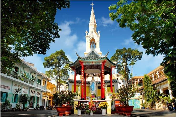 History of Cha tam church