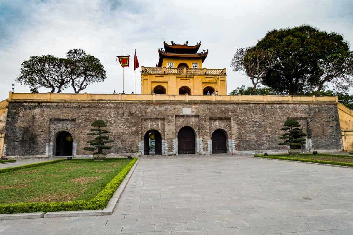 History of Imperial citadel of Thang Long