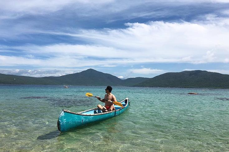 Hon Ong - Whale island in Van Phong bay