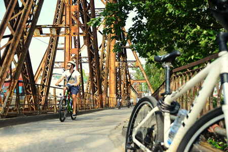 Half-day Cycling Tour to Explore the Typical Values of Hanoi