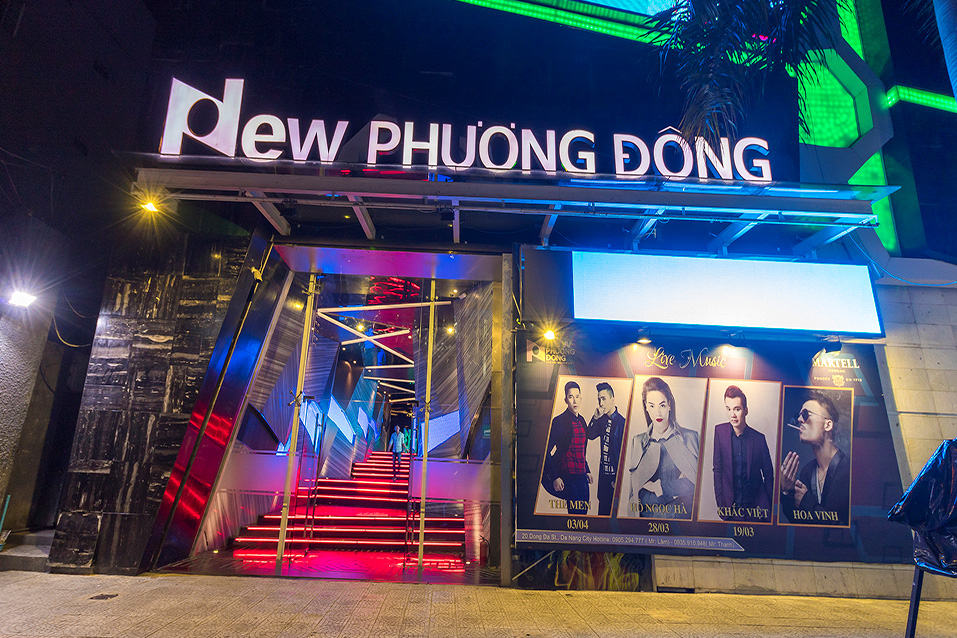 New Phuong Dong Nightclub in Danang