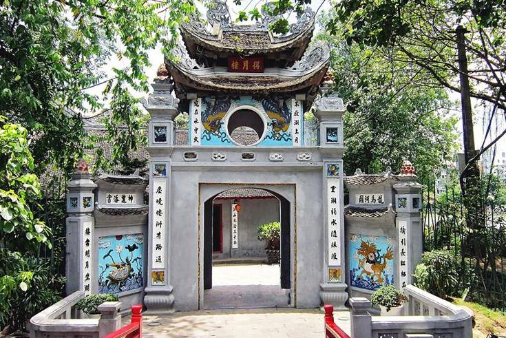 Ngoc Son temple - Hoan Kiem Lake