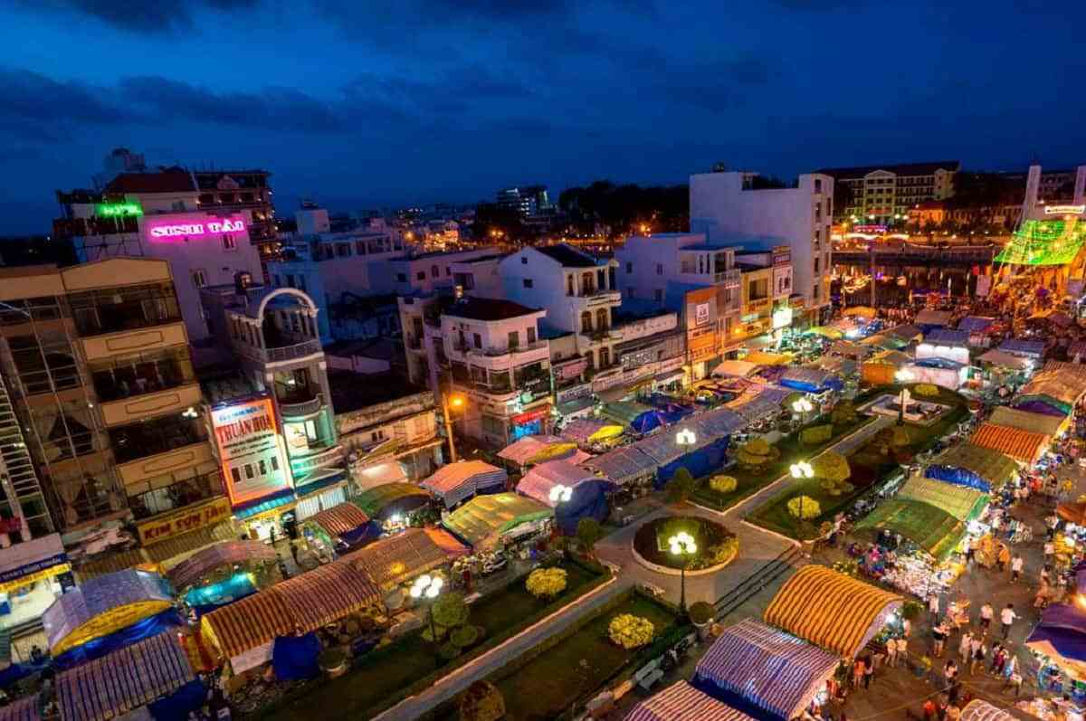 Phan Thiet night market