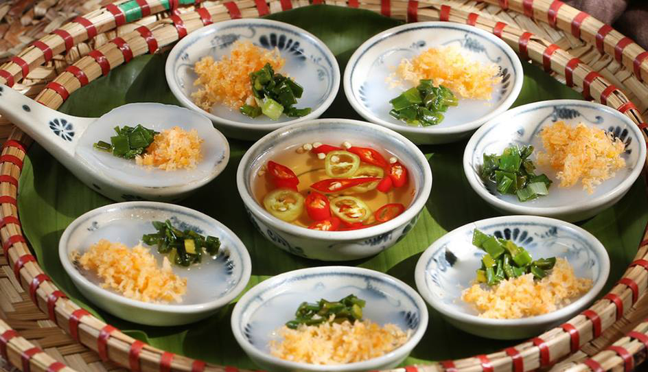 Quan An Ngon restaurant dish