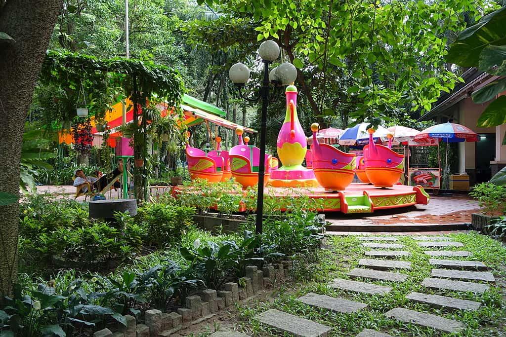 Saigon Zoo & Botanical Gardens