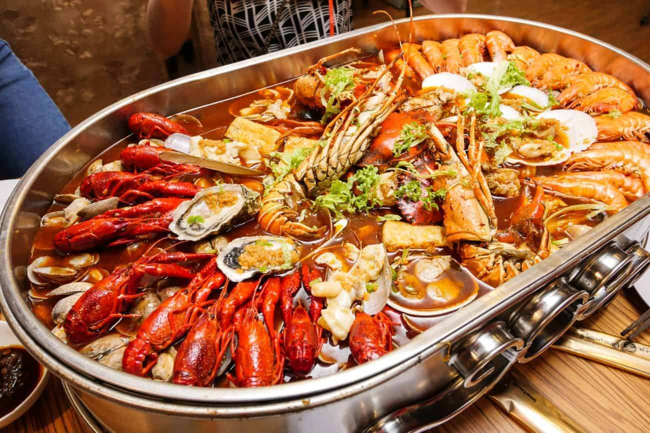 Seafood for best nightlife in mui ne