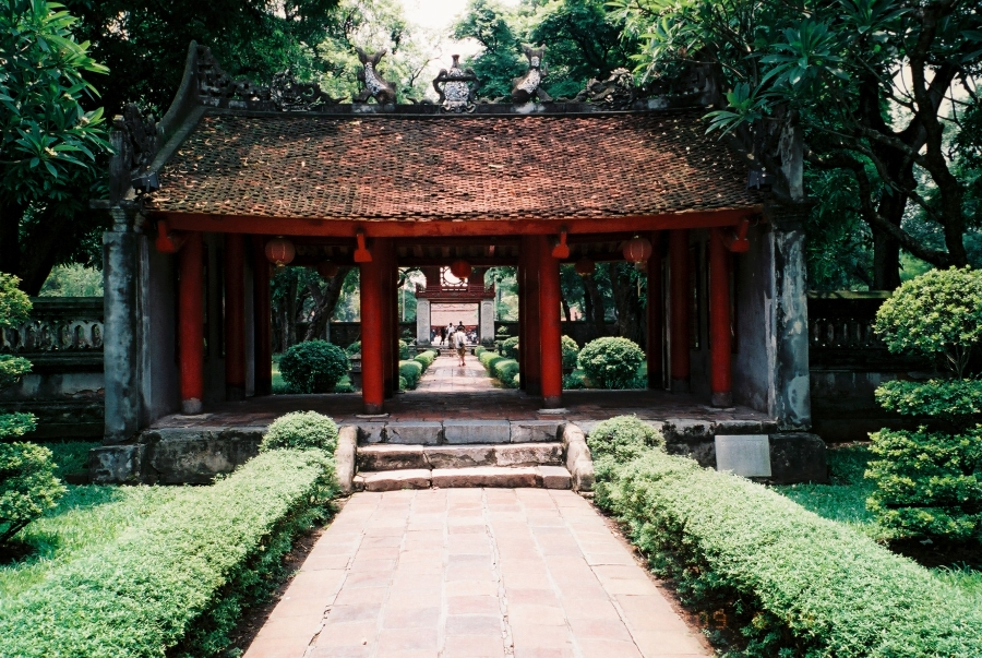 The First Courtyard - Temple of Literature
