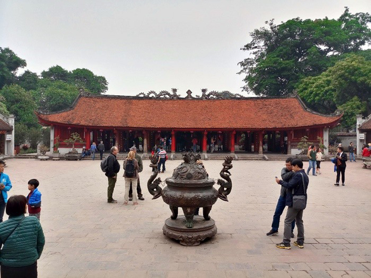 The Fourth Courtyard - Temple of Literature