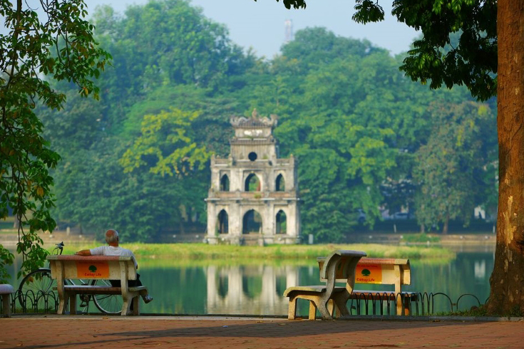 Turtle tower - Hoan Kiem Lake