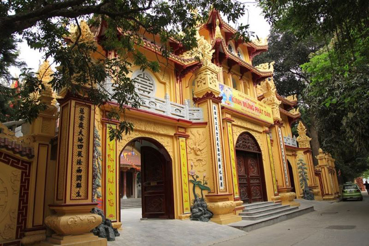 Vong Thi pagoda around West Lake