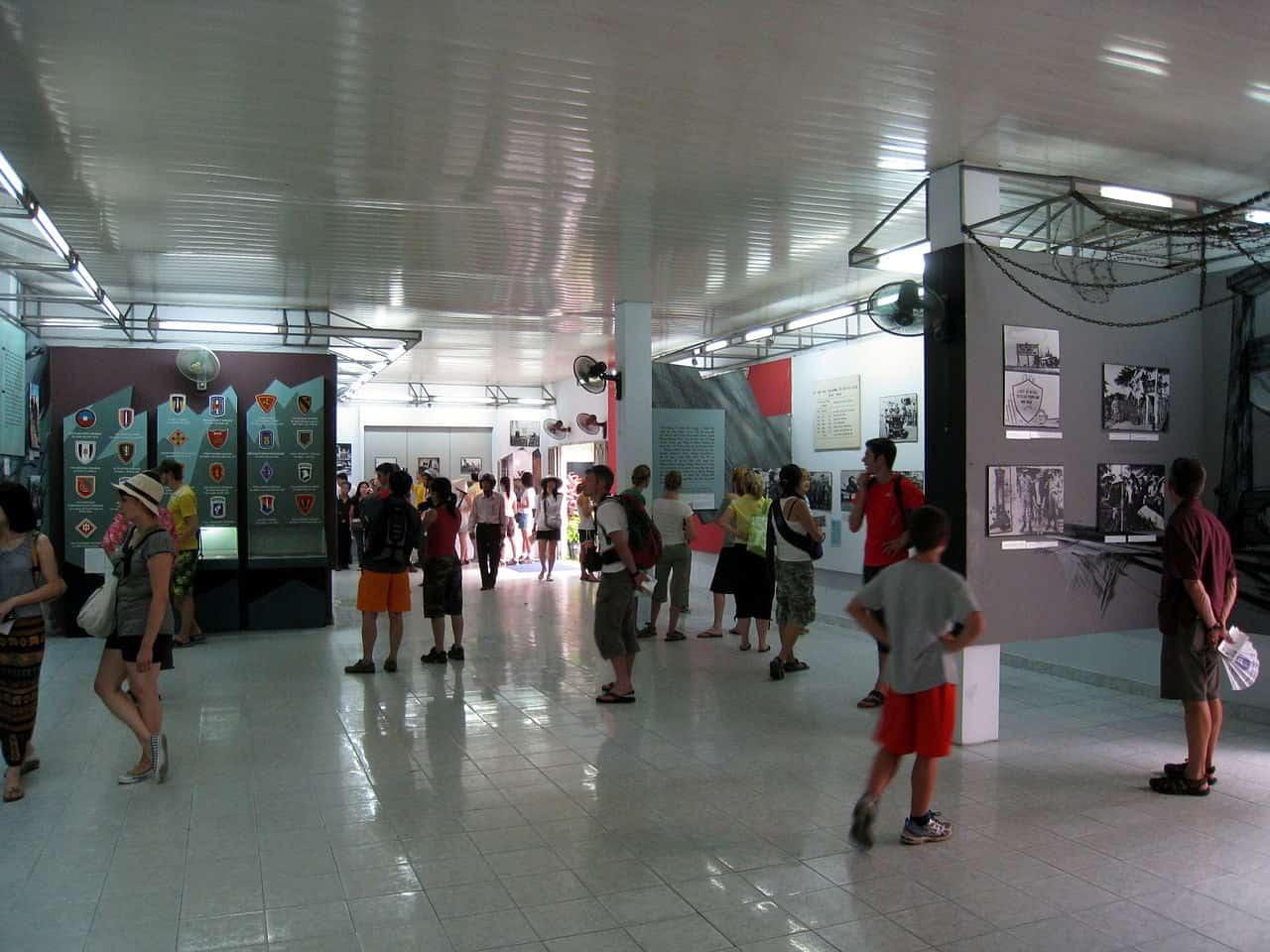 War Remnants Museum - a kid friendly spot in Saigon
