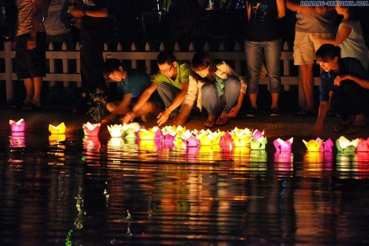 dropping lanterns