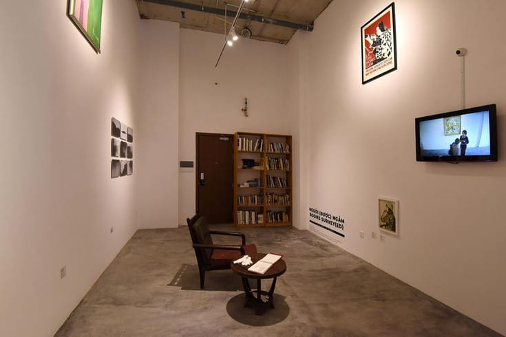 An exhibition held by San Art