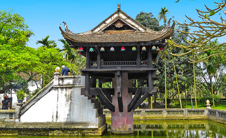 Hanoi One Pillar Pagoda - Hanoi attractions