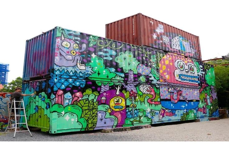 Containers at Saigon Outcast