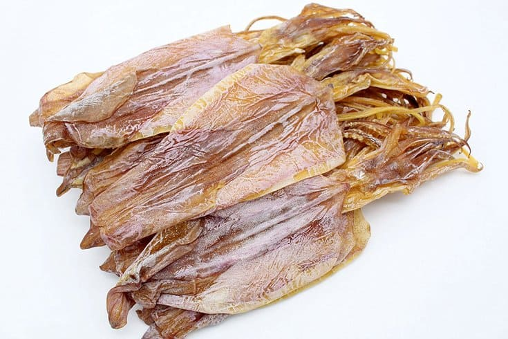 Dried cuttle fish
