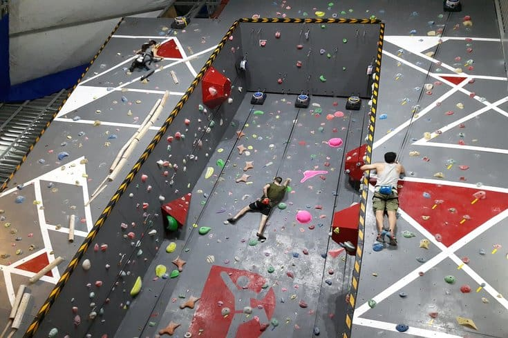 Push Rock Climbing at Saigon Outcast