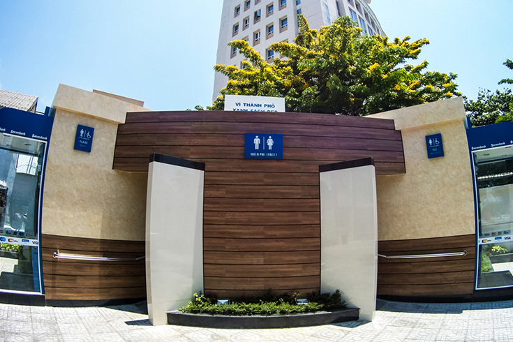 5-star Public Toilets Found Around the City
