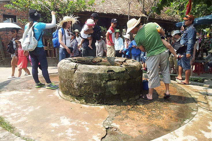 Ancient well at Cham Island