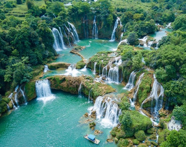 1. Ban Gioc Waterfall, Cao Bang