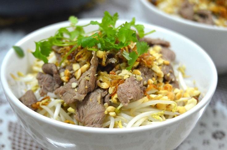 Beef noodles Ta Hien