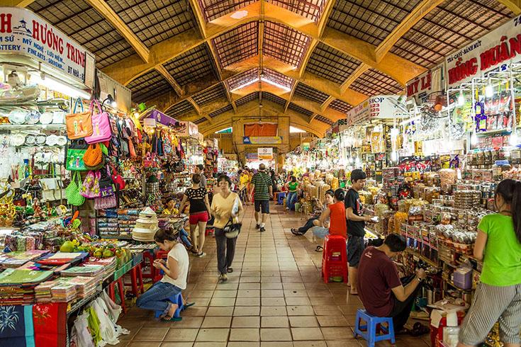 1. Ben Thanh market