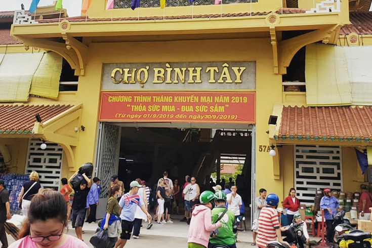 Binh Tay market - Best markets in Vietnam