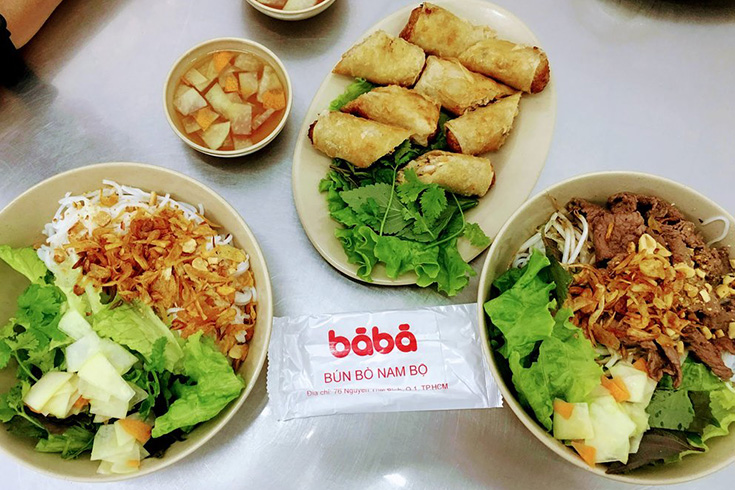 5. Bun Bo Nam Bo - Ba Ba Restaurant