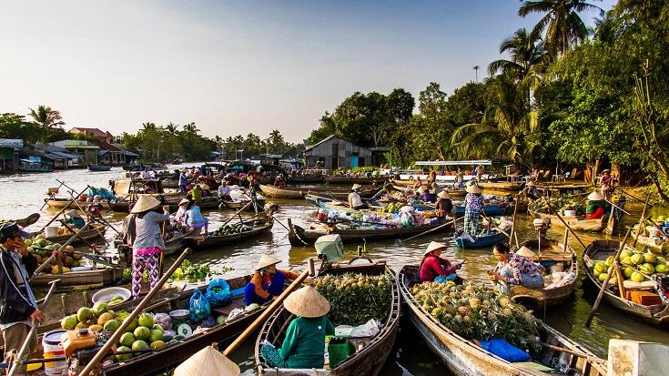 Cai Rang market Can Tho