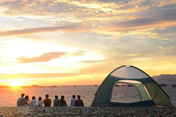 Camping at Cu Lao Cham