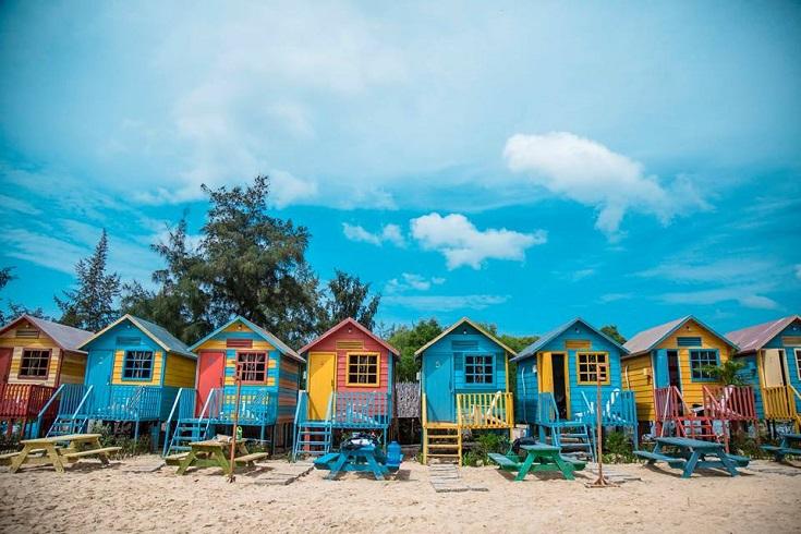 Coco beach camp in Vietnam