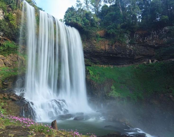 8. Dambri Waterfall, Lam Dong