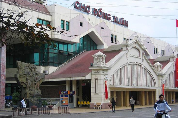 1. Dong Xuan Market