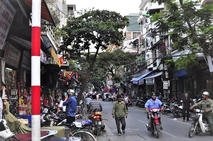 Hang Bac silver street