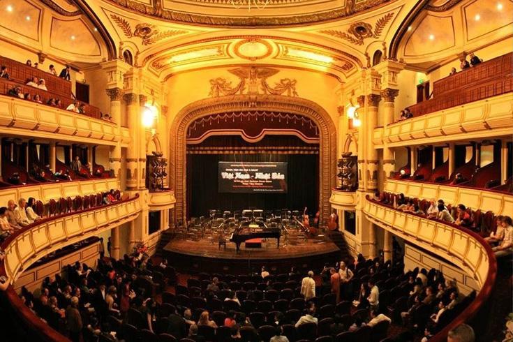 Hanoi opera house interior