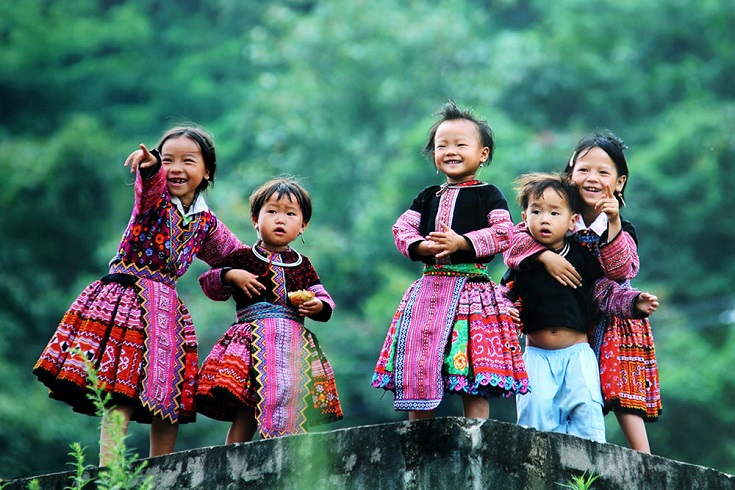Hill tribe in Sapa