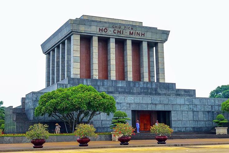 6. Ho Chi Minh's Mausoleum