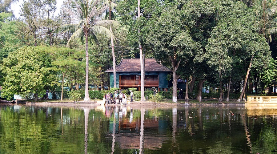 Ho Chi Minh fish pond