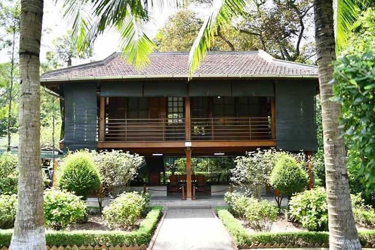 7. Ho Chi Minh's Stilt House