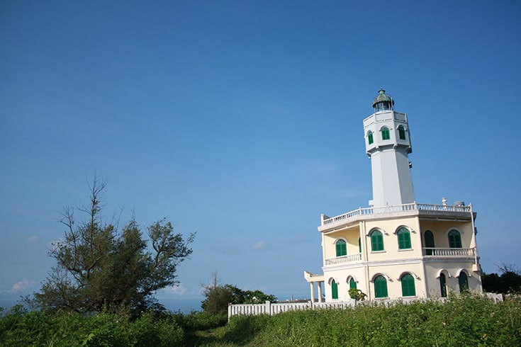 Hon Khoai island Lighthouse